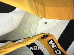 Mario Lemieux Penguins De Pittsburgh Signé Jersey Blanc CCM Bas Certifié Beckett