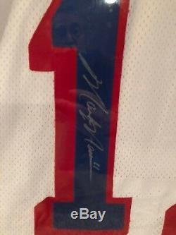 Mark Messier Chandail Autographié Des Rangers De New York 1994 Coupe Stanley Encadrée Coa