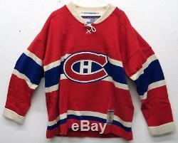 Maurice Richard Chandail Des Canadiens Vintage Autographié Et Signé, Wga