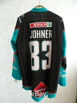 Mel Belfast Giants # 83 Dustin Johner Joueur Numéro État Neuf Jersey De Hockey