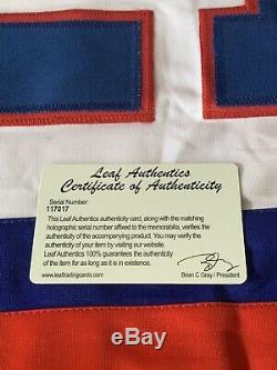 Mike Eruzione Chandail Autographié / Signé Leaf Authentics Team USA