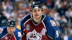 Mike Ricci A Signé La Coupe Stanley 1996 Colorado Avalanche CCM Jersey Jersey Psa Ab60544