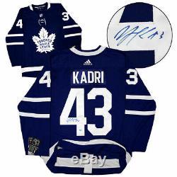 Nazem Kadri Chandail De Hockey Authentique Adidas Autographié Des Maple Leafs De Toronto