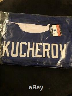 Nikita Kucherov A Signé Le Maillot Personnalisé Tamp Bay Lightning Jsa Coa Wp571851