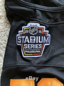 Noir Authentique Pittsburgh Penguins Jake Guentzel Jersey Stadium (taille 52)