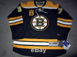 Patrice Bergeron Bruins De Boston Signé Jersey Coa Autographié New XL Stanley Cup