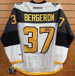 Patrice Bergeron Maillot All-star Signé 2016 LNH Autographié