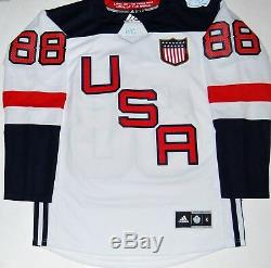 Patrick Kane A Signé (chicago Blackhawks) Maillot De Hockey Wch Team USA 2016 Aveccoa