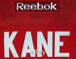 Patrick Kane, Authentique Premier Maillot Blackhawks Psa Dna Coa Encadrée
