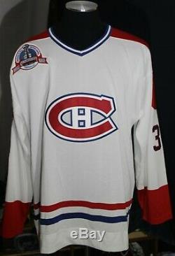 Patrick Roy Uda Auto & Inscribed Canadiens Authentic Blanc Montréal Jersey