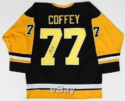 Paul Coffey Maillot Des Penguins De Pittsburgh Signé (jsa Coa) Carrière De Joueur 19802001