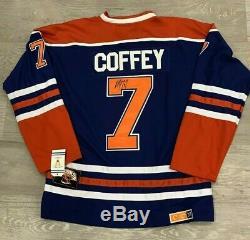 Paul Coffey Signé Des Oilers D'edmonton Avec Photo Proof