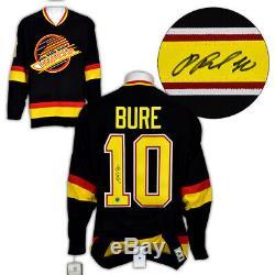 Pavel Bure Vancouver Canucks Autographié Adidas Authentique Vintage Hockey Jersey