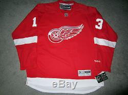 Pavel Datsyuk Chandails De Hockey Reebok Autographiés Et Signés Par Les Red Wings De Detroit Nouveau Coa