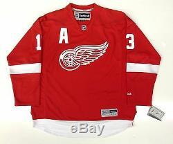 Pavel Datsyuk Maillot Maillot De La Coupe Stanley Avec Emblème Des Red Wings De Detroit Signé Psa / Dna Coa