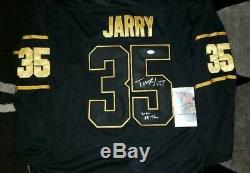 Penguins All Star Tristan Jarry Signé Penguins De Pittsburgh Jsa + Inc De