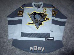 Pittsburgh Penguins Sidney Crosby Signée Autographié Jersey Avec Psa Coa Nouveau Grand
