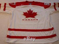 Sidney Crosby A Signé L'hologramme À L'épreuve Des Épreuves Jerseytamper De Olympicteam Canada 2010 De Csi