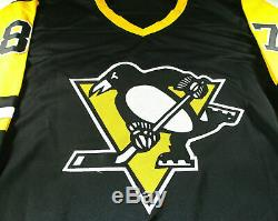 Sidney Crosby / Penguins De Pittsburgh Autographié Personnalisés Hockey Jersey / Coa