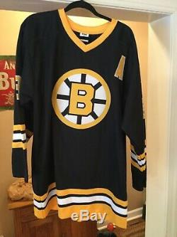 Signé Automatisé Jsa LNH Jersey Bruins De Boston Cam Neely Black Throwback XL