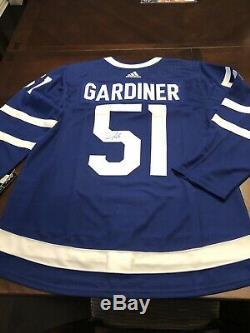 Signé Jake Gardiner Jersey Maple Leafs De Toronto