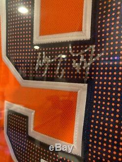 Signée À La Main Wayne Gretzky Oilers D'edmonton Autod Authentique Adidas Jersey Coa