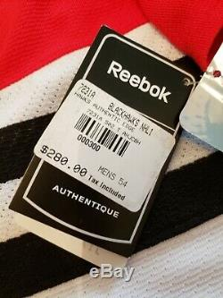 Stan Mikita Authentic Signé Reebok Authentic Jersey