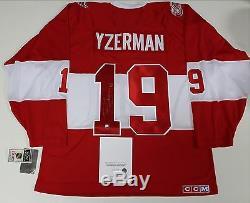 Steve Yzerman, Chandail Des Anciens Des Red Wings De Detroit 2014, Stevie Y Auth Coa