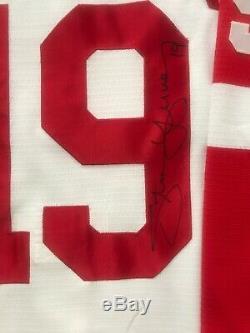 Steve Yzerman Signé Jersey Authentique Nike Red Wings De Detroit Last Day Acheter Maintenant