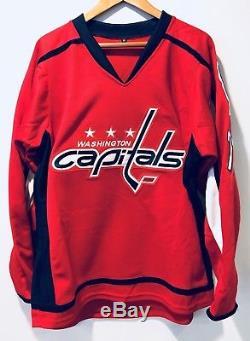 T. J. Oshie A Signé Le Maillot De Hockey Autographié Automatique Des Capitals De Washington (coa Jsa)
