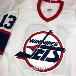 Teemu Selanne Jets De Winnipeg Signé CCM Jersey Beckett Coa H71024