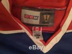 Wayne Gretzky A Signé Le Chandail Edmonton Oilers CCM Jsa Coa