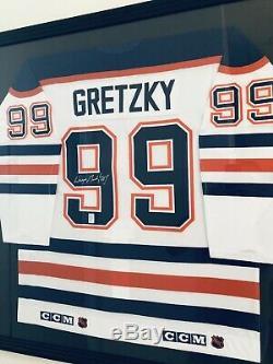 Wayne Gretzky Autographié 1987-88 Authentic CCM Jersey (wga) Des Oilers D'edmonton