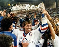 Wayne Gretzky Autographié Oilers All Star Jersey Beckett Bas Coa Photo Encadrée