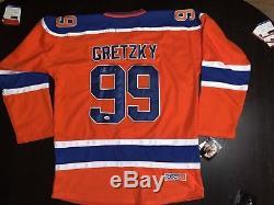 Wayne Gretzky Chandail Personnalisé Des Oilers D'edmonton Signé Goat Psa Dna Cert