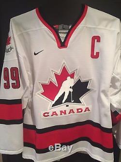 Wayne Gretzky Équipe Canada Jersey Autographié