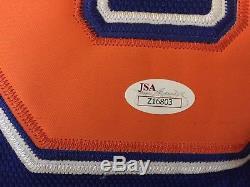Wayne Gretzky Lettre Jsa Autographiée Autographiée De Jersey Oilers Authentic