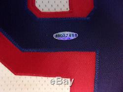 Wayne Gretzky - Maillot CCM Blanc Des Rangers De New York Signé Uda Upper Deck (54) Tn-o.