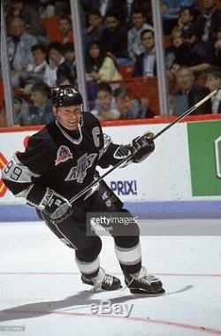 Wayne Gretzky Maillot De La Coupe Stanley Des Kings De Los Angeles 1993 Signé Psa Loa Aa06510