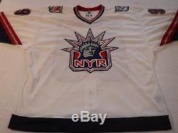 Wayne Gretzky Maillot Liberty Rangers Signé De New York