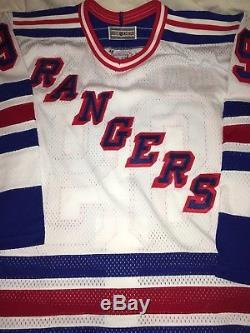 Wayne Gretzky Maillot Rangers Autographié Taille 48 Authentic Auto