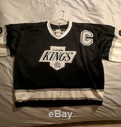 Wayne Gretzky, Maillot XL Dédicacé Des Kings De Los Angeles Avec Coa