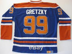 Wayne Gretzky, Oilers D'edmonton, Signé, Autographié, Maillot Des Oilers, Coa, Avec Preuve