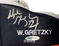 Wayne Gretzky Oilers D'edmonton Signé Jofa Right Hand Hockey Glove Upper Deck