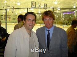 Wayne Gretzky Signé La Kings Authentic / Center Ice # 99 Jersey Nwt