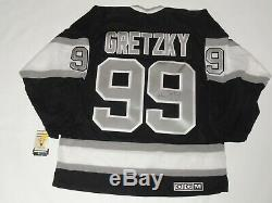 Wayne Gretzky Signé Los Angeles Kings CCM 1993 Coupe Stanley Jersey
