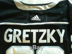 Wayne Gretzky Signé, Maillot Mondial Authentifié Kings