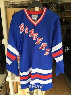 Wayne Gretzky Signe Rangers De New York Accueil Jersey