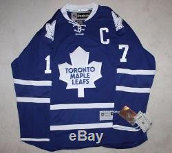 Wendel Clark A Signé Un Maillot Reebok Autographié Des Maple Leafs De Toronto